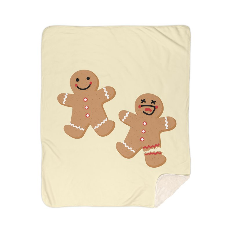 Gingerbread People Home Blanket by Dean Cole Design