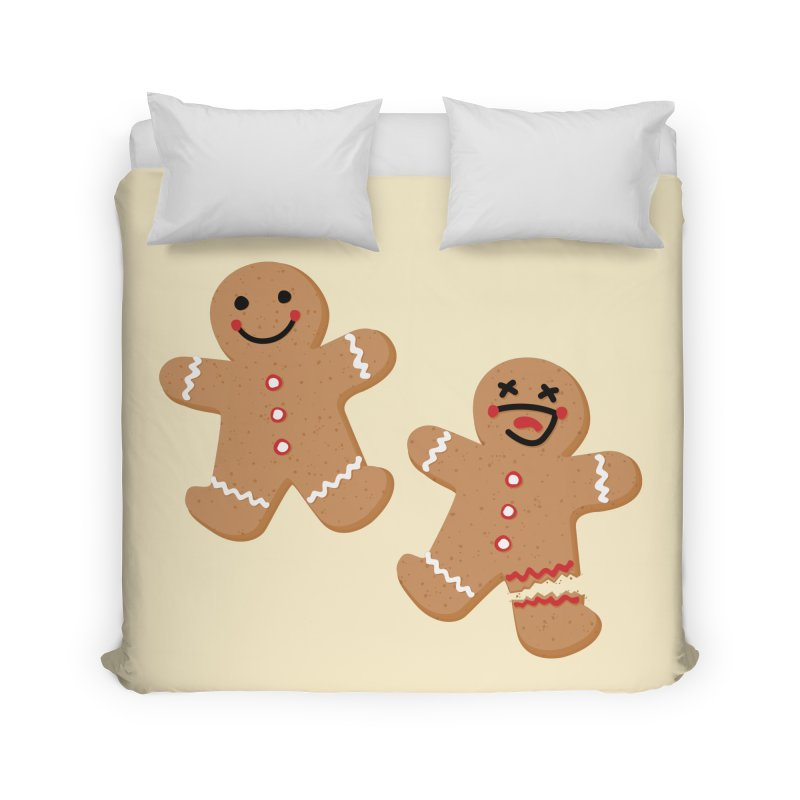 Gingerbread People Home Duvet by Dean Cole Design
