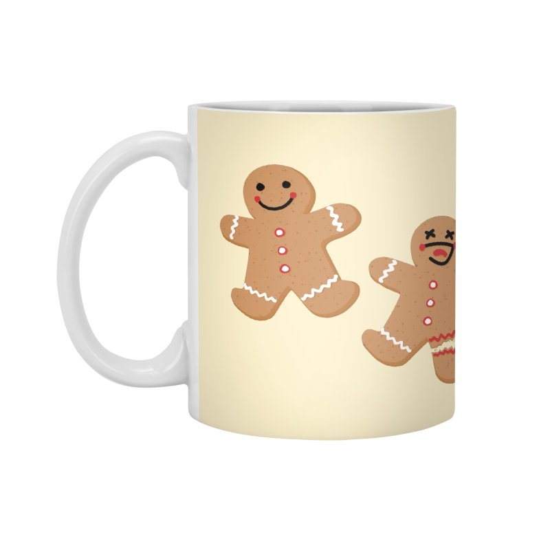 Gingerbread People Accessories Mug by Dean Cole Design