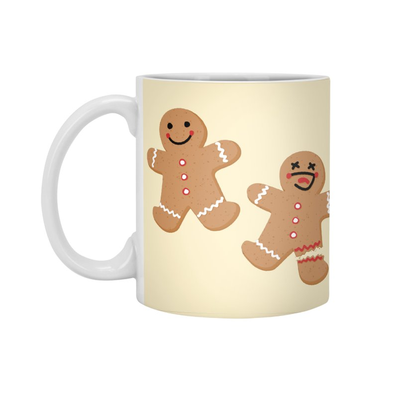 Gingerbread People Accessories Standard Mug by Dean Cole Design