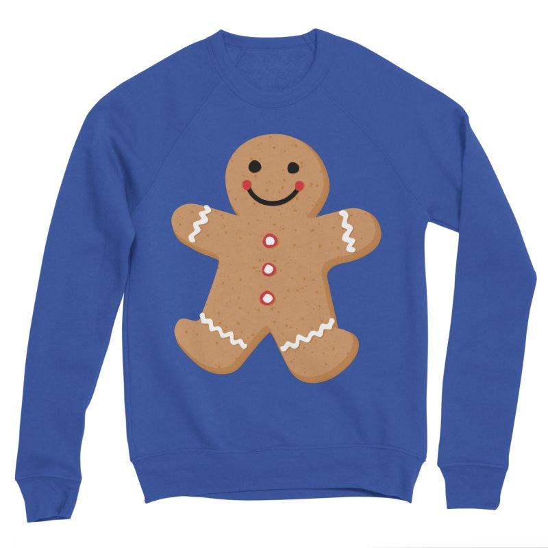 Gingerbread Person Women's Sweatshirt by Dean Cole Design