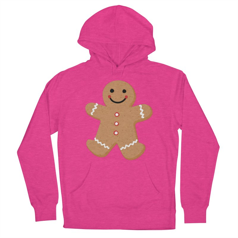 Gingerbread Person Women's Pullover Hoody by Dean Cole Design