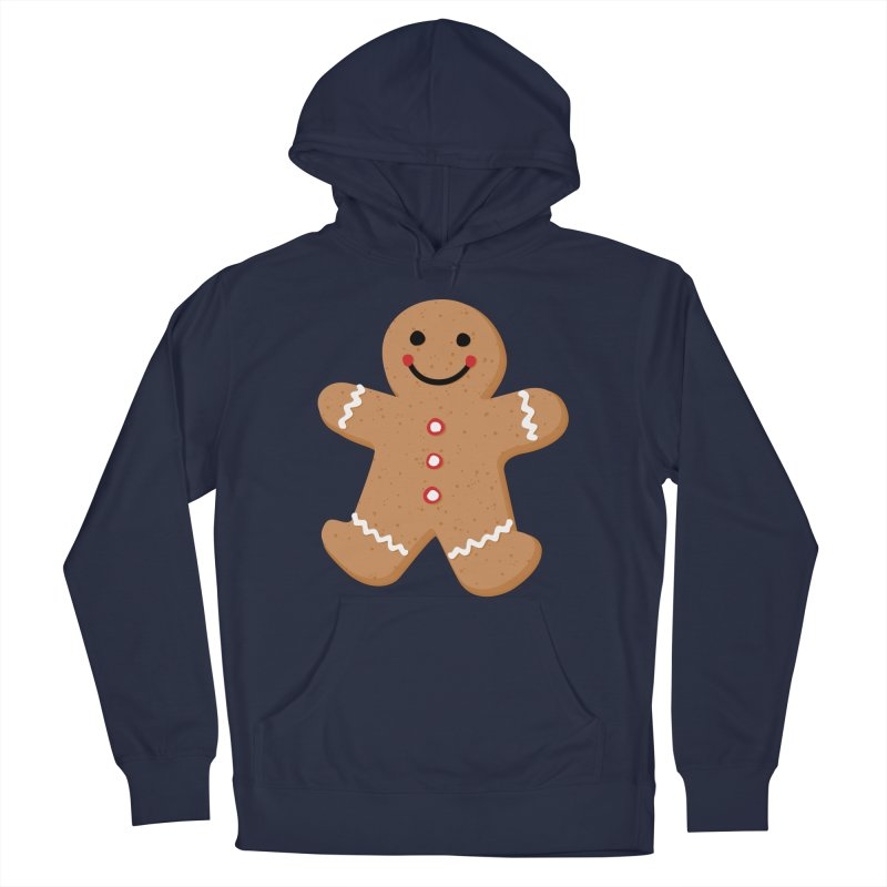 Gingerbread Person Men's Pullover Hoody by Dean Cole Design