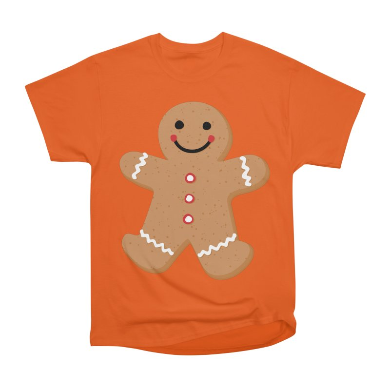 Gingerbread Person Women's T-Shirt by Dean Cole Design