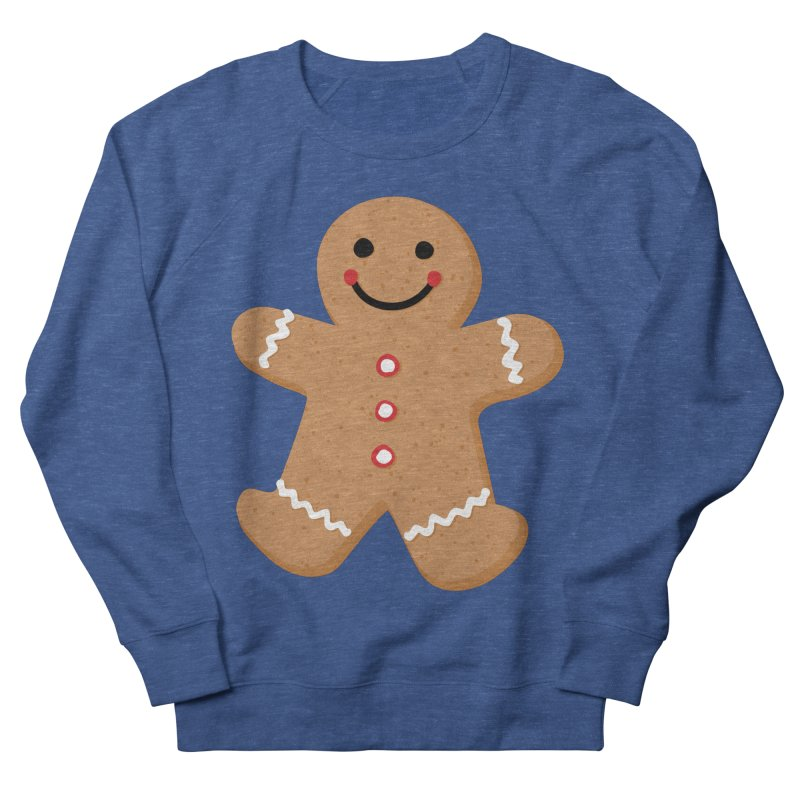 Gingerbread Person Men's Sweatshirt by Dean Cole Design