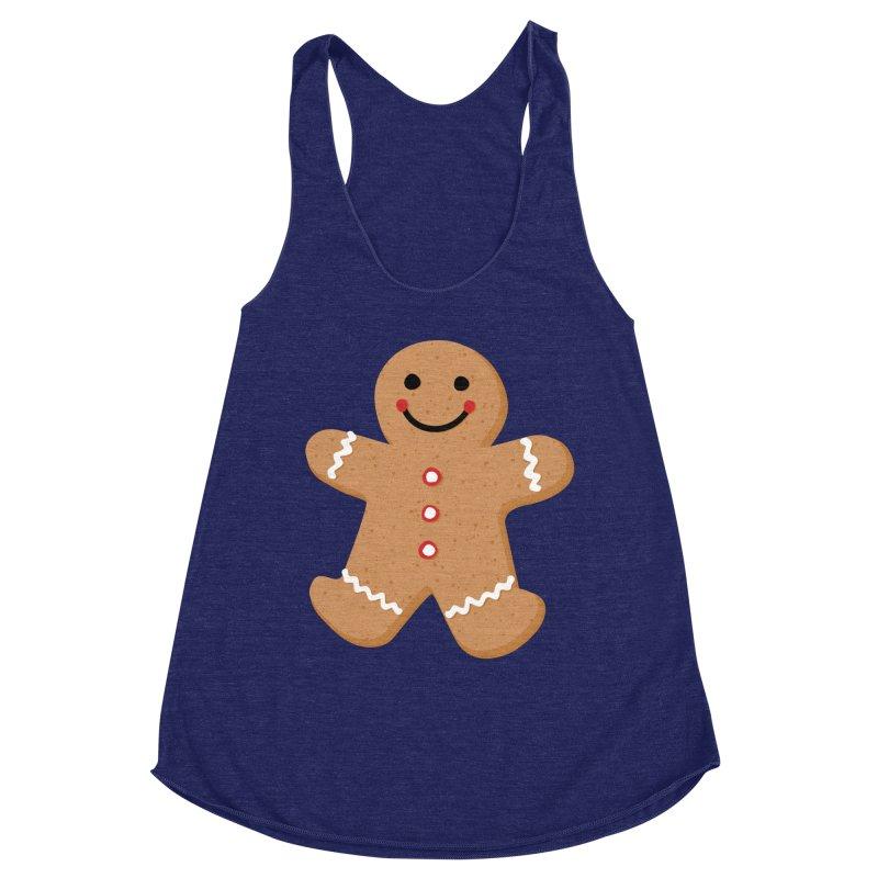 Gingerbread Person Women's Tank by Dean Cole Design