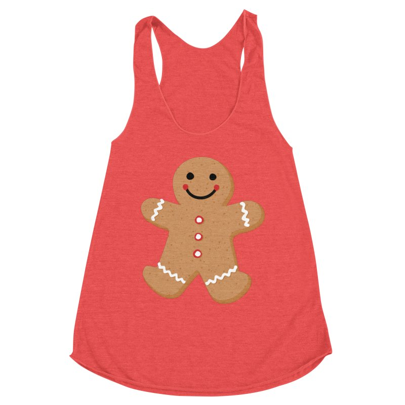 Gingerbread Person Women's Tank by Dean Cole Design