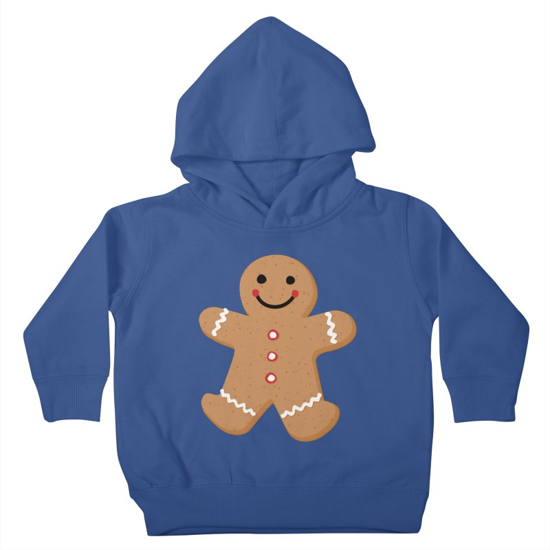 Gingerbread Person Kids Toddler Pullover Hoody by Dean Cole Design
