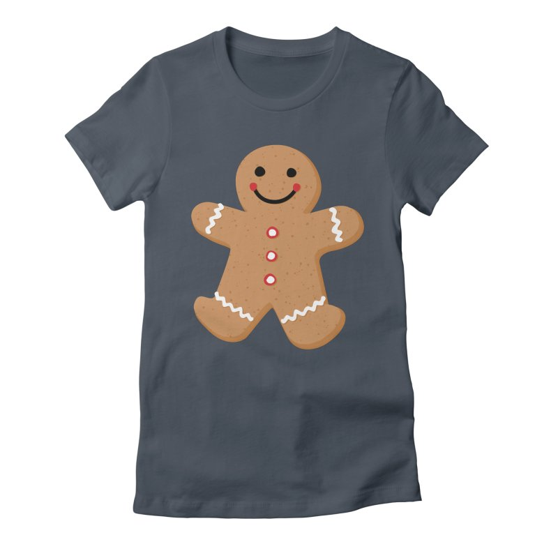 Gingerbread Person Women's T-Shirt by Dean Cole Design