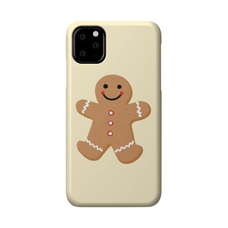 Gingerbread Person Accessories Phone Case by Dean Cole Design