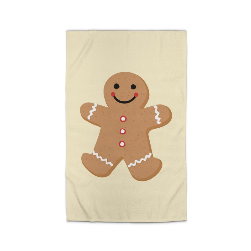 Gingerbread Person Home Rug by Dean Cole Design