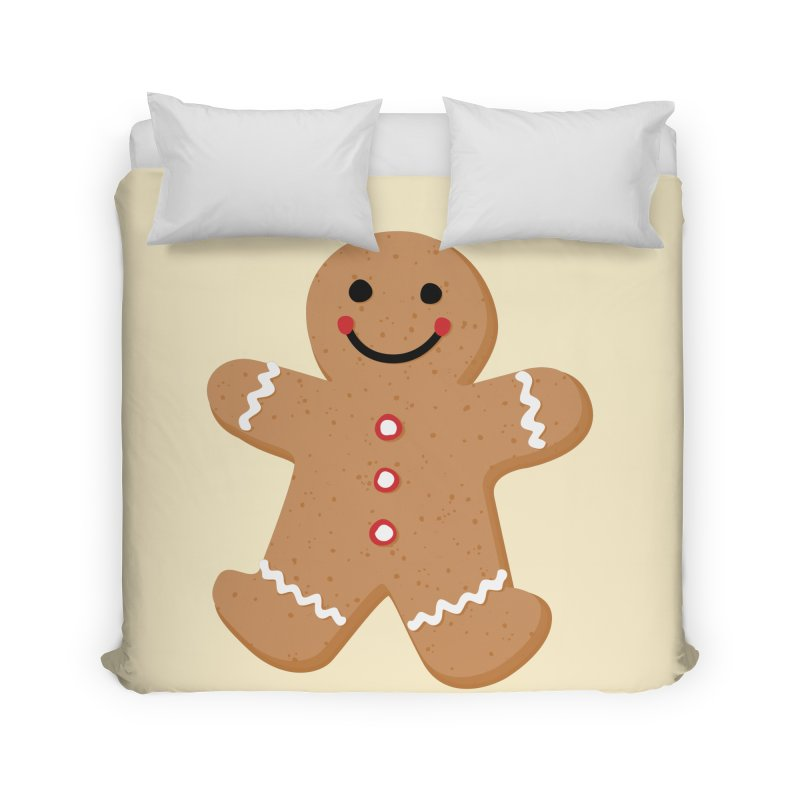 Gingerbread Person Home Duvet by Dean Cole Design