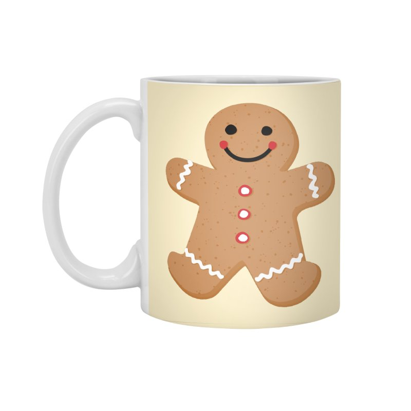 Gingerbread Person Accessories Standard Mug by Dean Cole Design