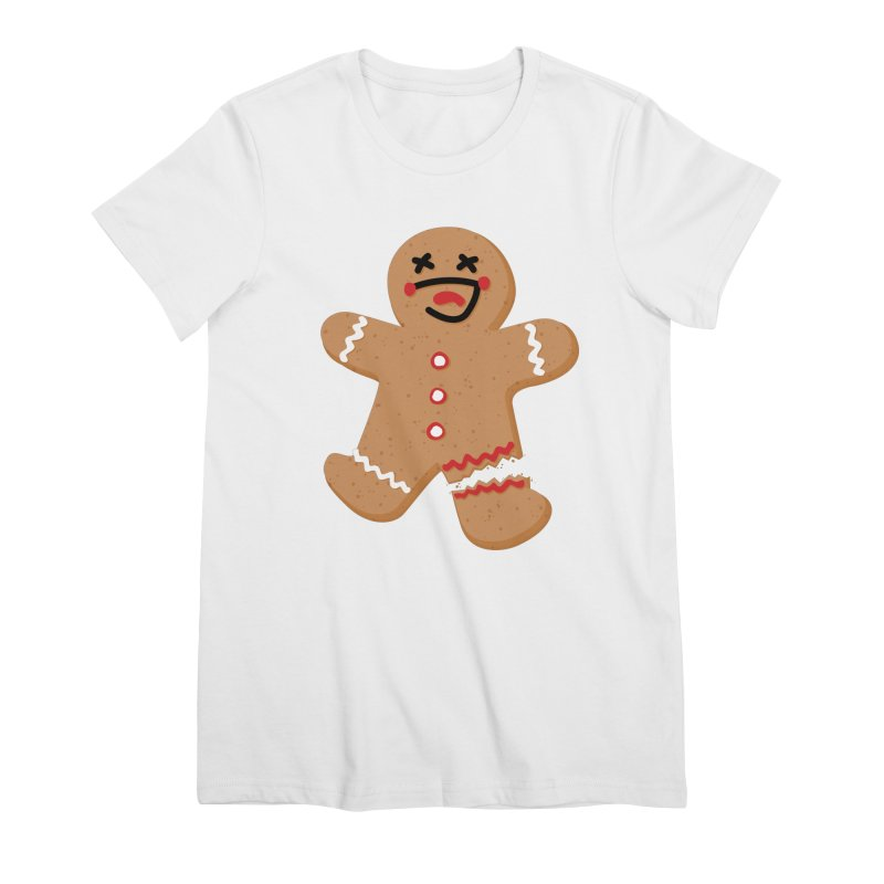 Gingerbread - Oh Snap! Women's Premium T-Shirt by Dean Cole Design