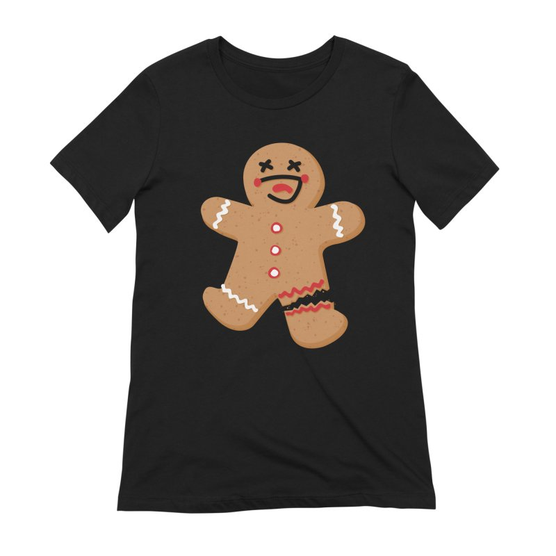 Gingerbread - Oh Snap! Women's Extra Soft T-Shirt by Dean Cole Design