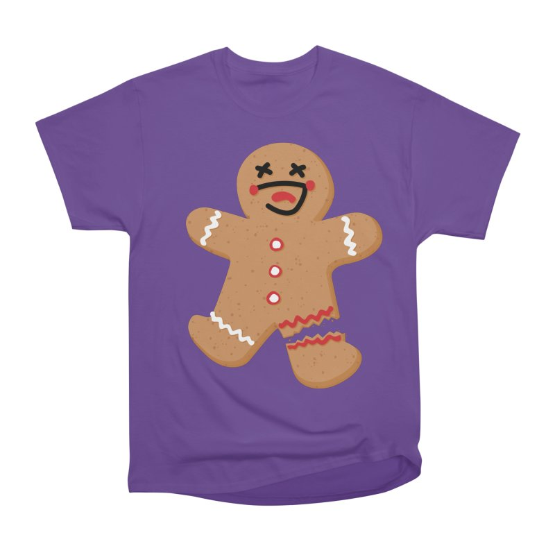 Gingerbread - Oh Snap! Men's T-Shirt by Dean Cole Design