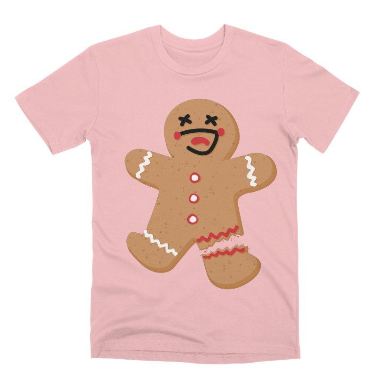Gingerbread - Oh Snap! Men's Premium T-Shirt by Dean Cole Design