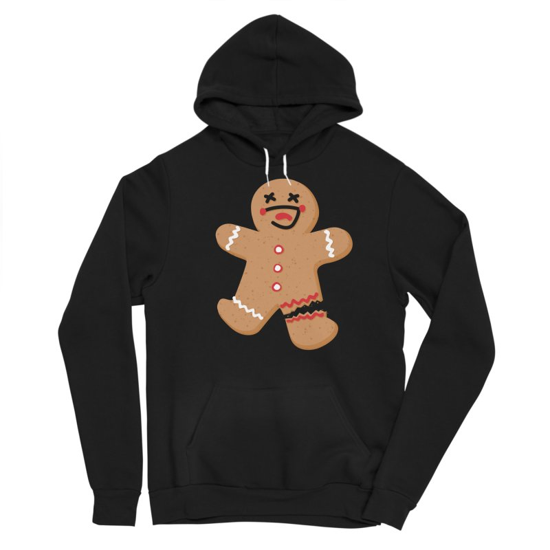 Gingerbread - Oh Snap! Men's Sponge Fleece Pullover Hoody by Dean Cole Design