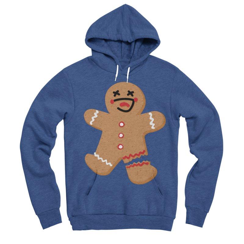 Gingerbread - Oh Snap! Men's Sponge Fleece Pullover Hoody by Dean Cole Design