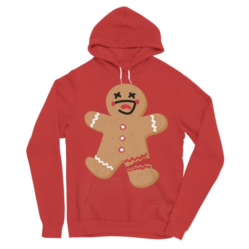 Gingerbread - Oh Snap! Women's Sponge Fleece Pullover Hoody by Dean Cole Design