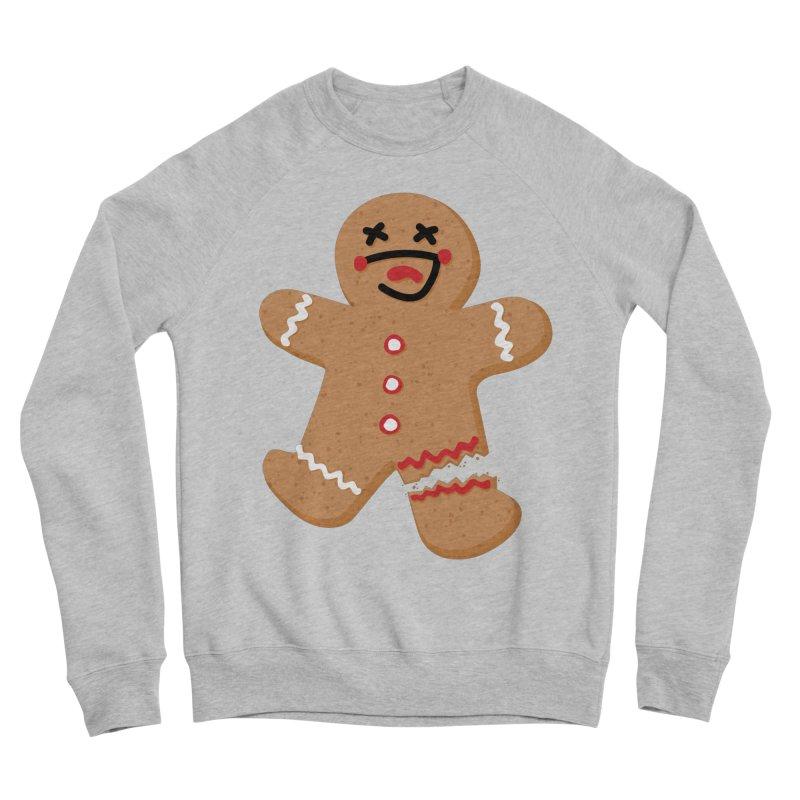 Gingerbread - Oh Snap! Men's Sponge Fleece Sweatshirt by Dean Cole Design