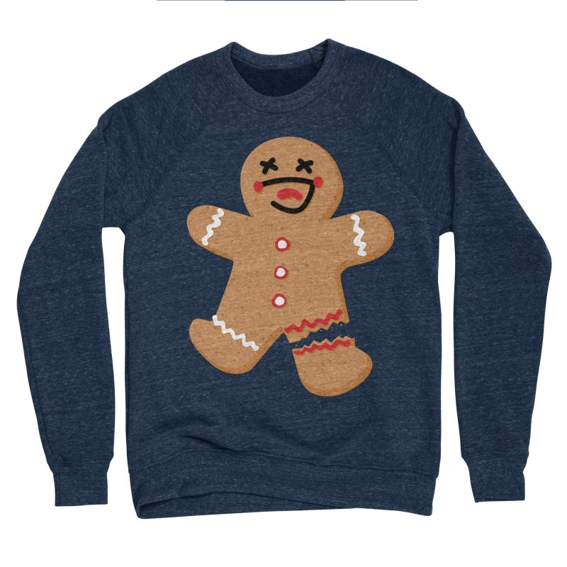 Gingerbread - Oh Snap! Women's Sponge Fleece Sweatshirt by Dean Cole Design