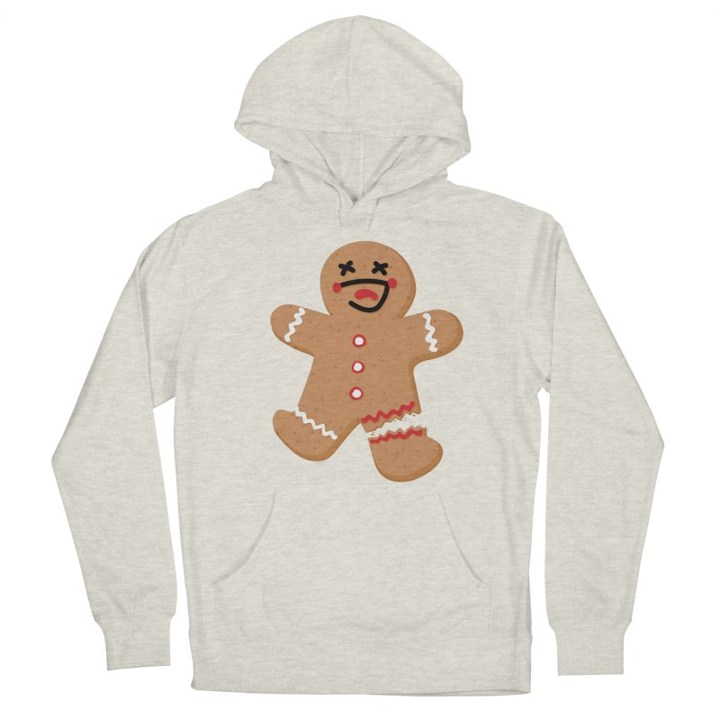 Gingerbread - Oh Snap! Women's Pullover Hoody by Dean Cole Design