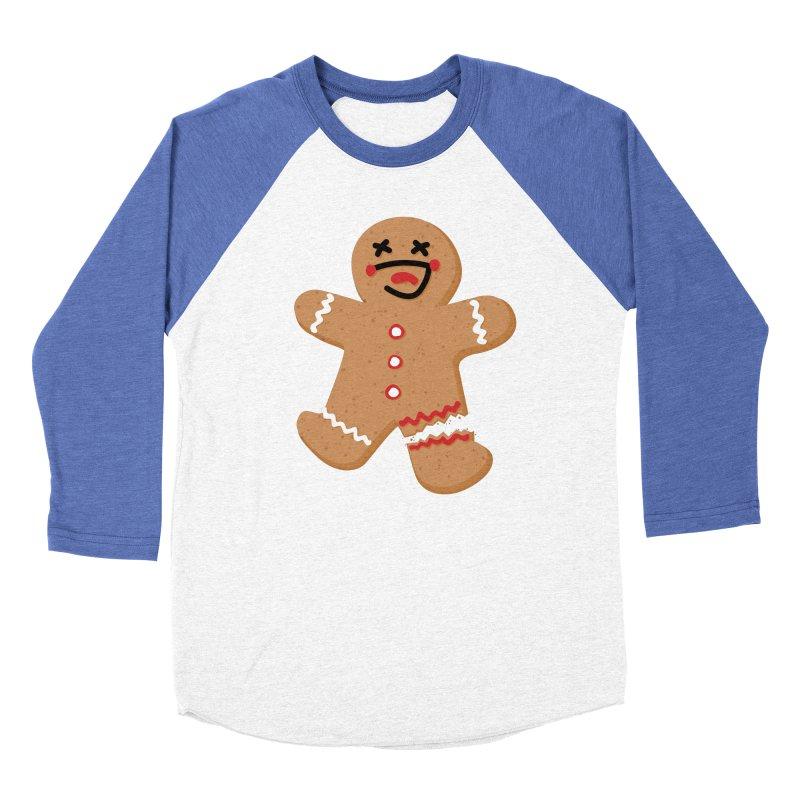 Gingerbread - Oh Snap! Women's Longsleeve T-Shirt by Dean Cole Design