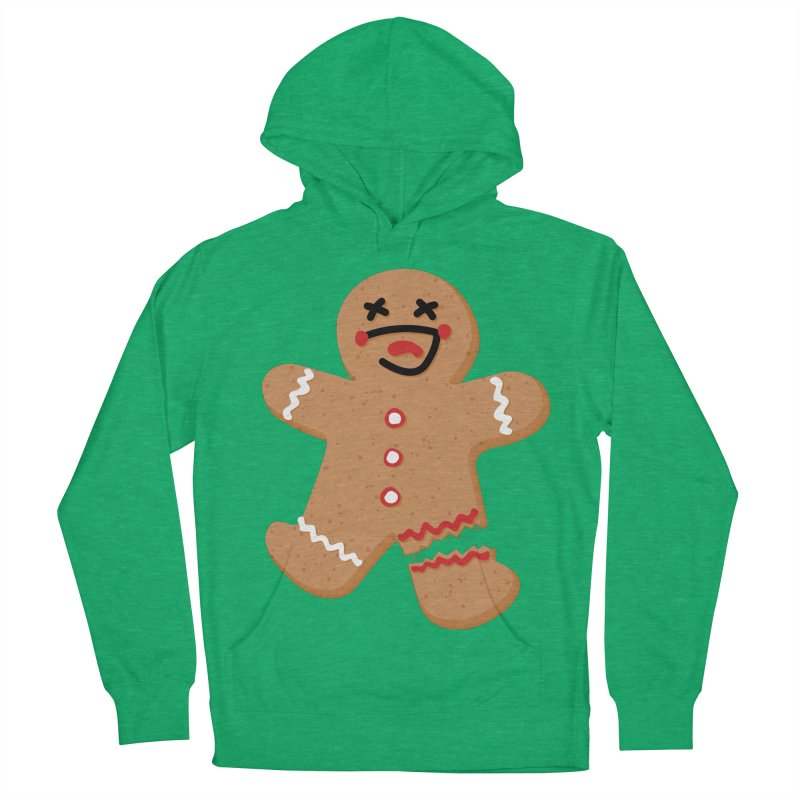 Gingerbread - Oh Snap! Women's French Terry Pullover Hoody by Dean Cole Design