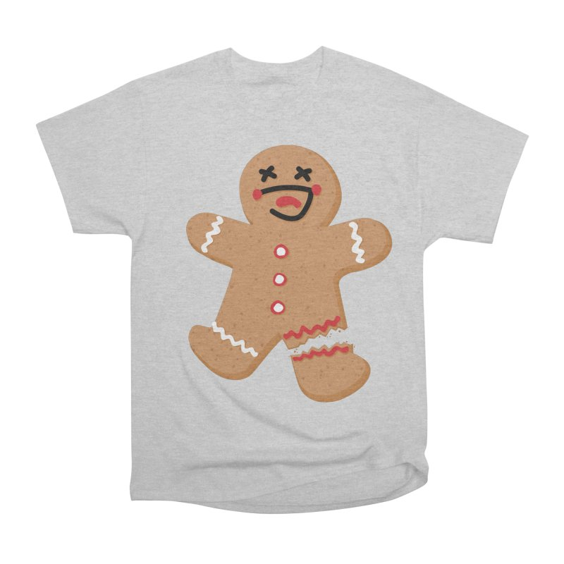 Gingerbread - Oh Snap! Women's Heavyweight Unisex T-Shirt by Dean Cole Design
