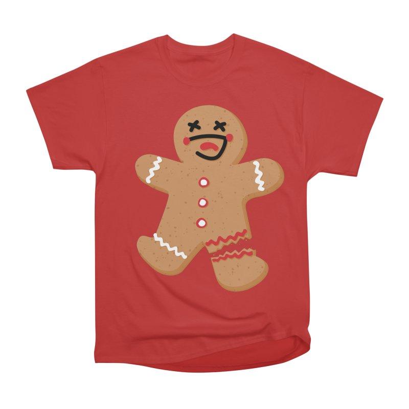 Gingerbread - Oh Snap! Men's Heavyweight T-Shirt by Dean Cole Design