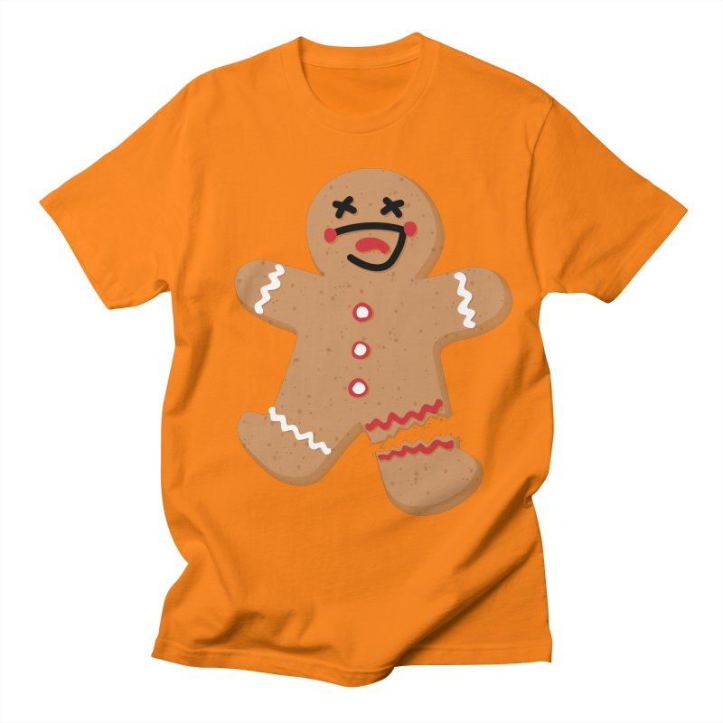 Gingerbread - Oh Snap! Women's Regular Unisex T-Shirt by Dean Cole Design