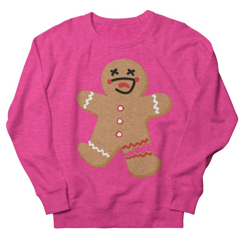 Gingerbread - Oh Snap! Women's French Terry Sweatshirt by Dean Cole Design