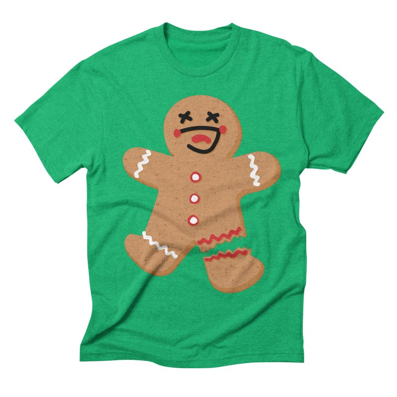 Gingerbread - Oh Snap! Men's Triblend T-Shirt by Dean Cole Design