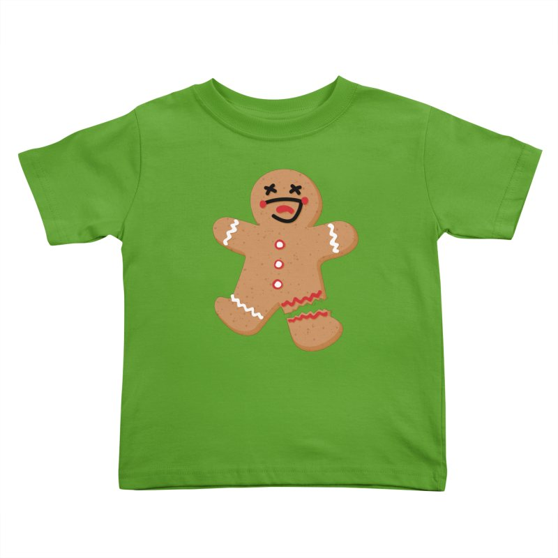 Gingerbread - Oh Snap! Kids Toddler T-Shirt by Dean Cole Design