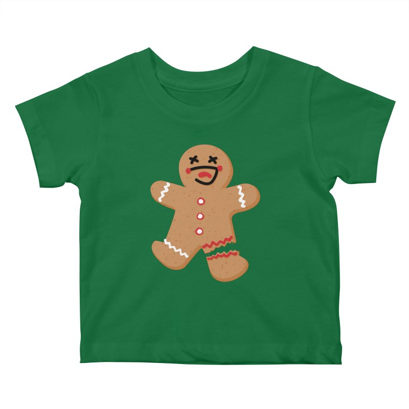 Gingerbread - Oh Snap! Kids Baby T-Shirt by Dean Cole Design