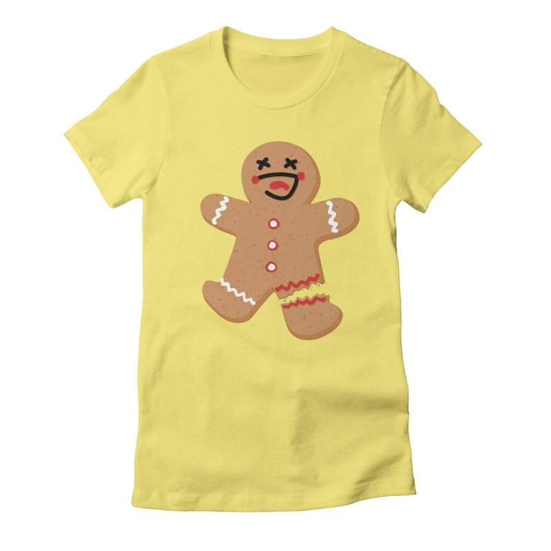 Gingerbread - Oh Snap! Women's T-Shirt by Dean Cole Design
