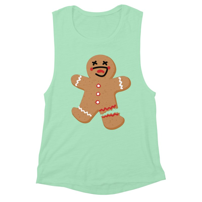 Gingerbread - Oh Snap! Women's Tank by Dean Cole Design
