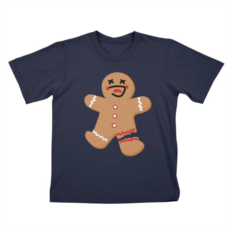 Gingerbread - Oh Snap! Kids T-Shirt by Dean Cole Design