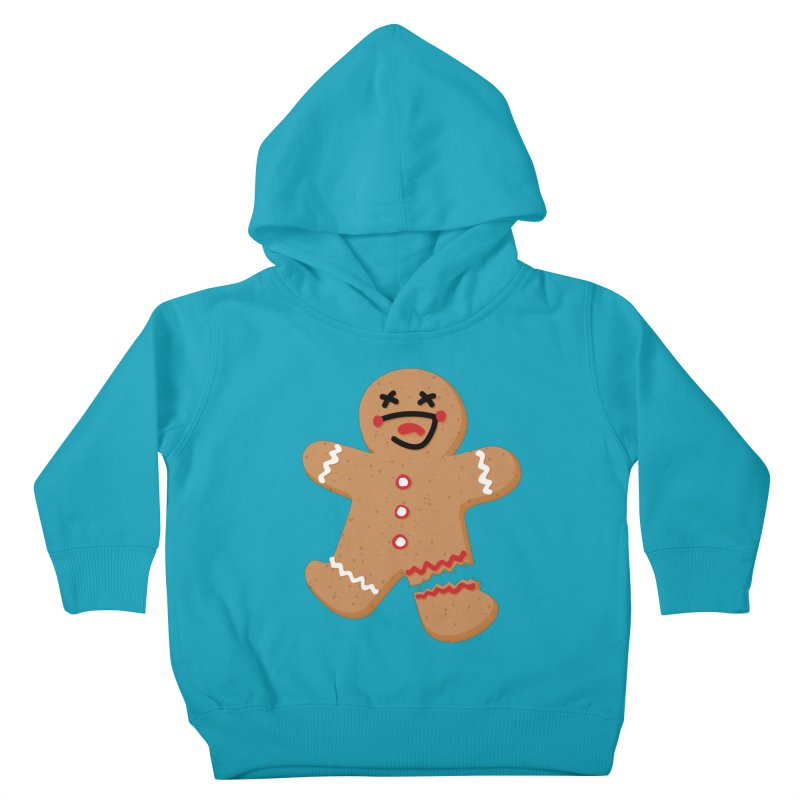 Gingerbread - Oh Snap! Kids Toddler Pullover Hoody by Dean Cole Design