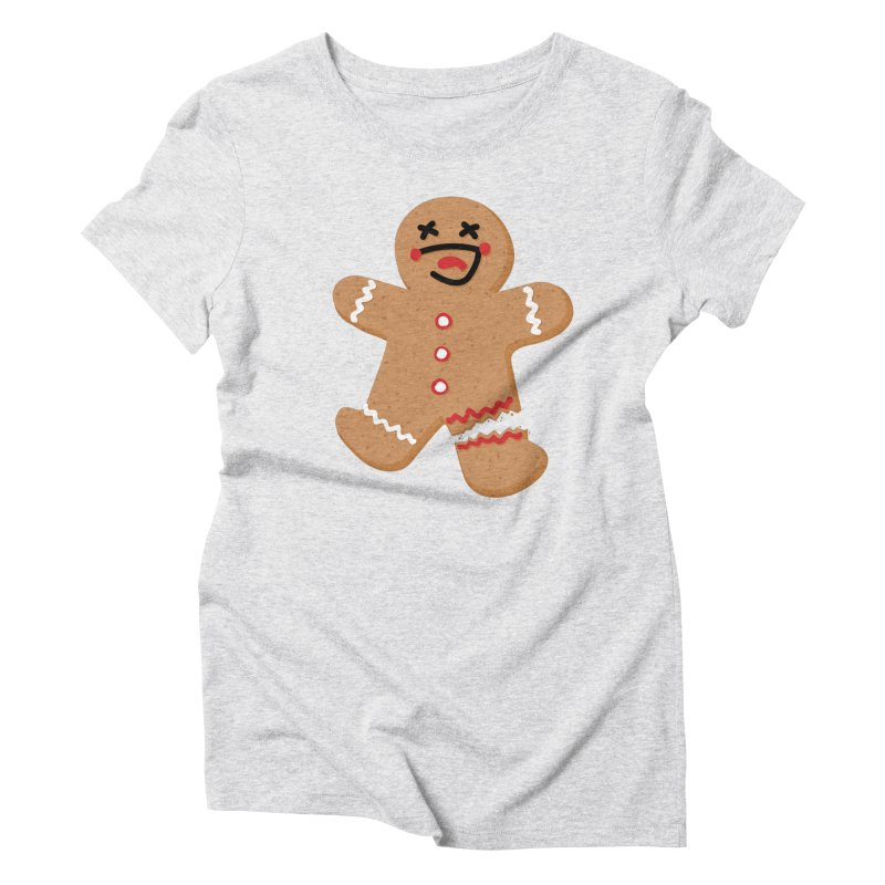 Gingerbread - Oh Snap! Women's Triblend T-Shirt by Dean Cole Design