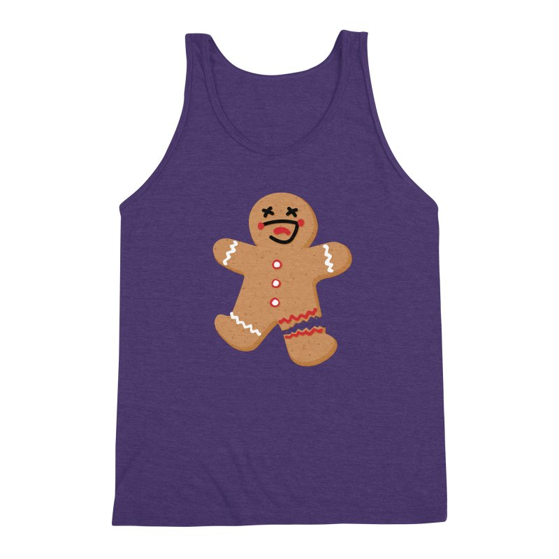 Gingerbread - Oh Snap! Men's Triblend Tank by Dean Cole Design