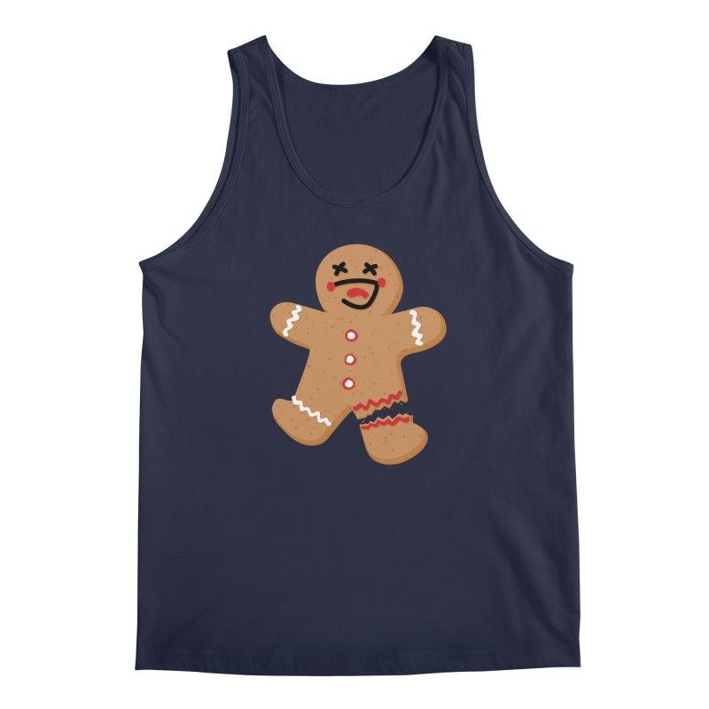 Gingerbread - Oh Snap! Men's Regular Tank by Dean Cole Design