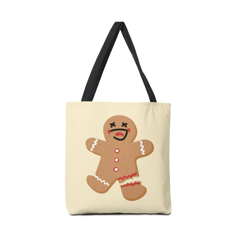 Gingerbread - Oh Snap! Accessories Tote Bag Bag by Dean Cole Design