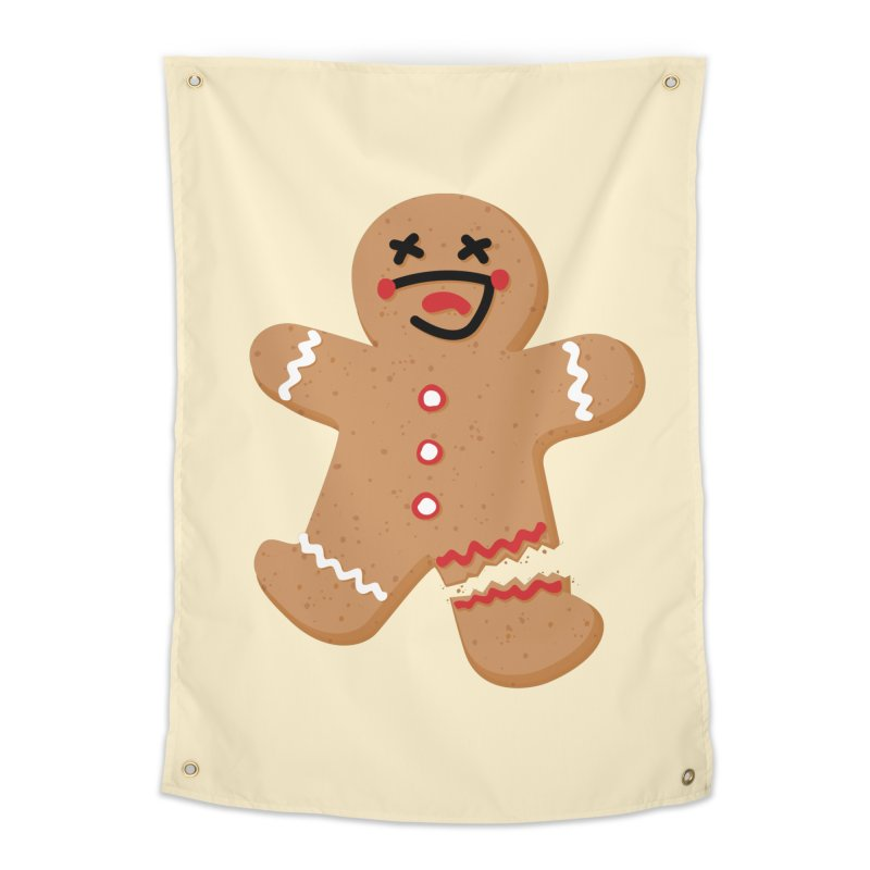 Gingerbread - Oh Snap! Home Tapestry by Dean Cole Design