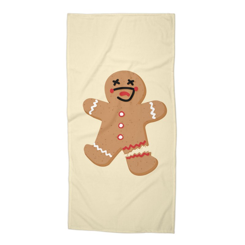 Gingerbread - Oh Snap! Accessories Beach Towel by Dean Cole Design