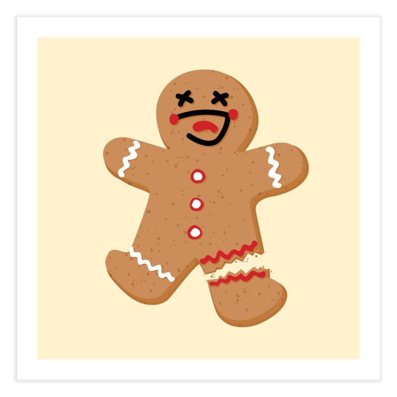Gingerbread - Oh Snap! Home Fine Art Print by Dean Cole Design