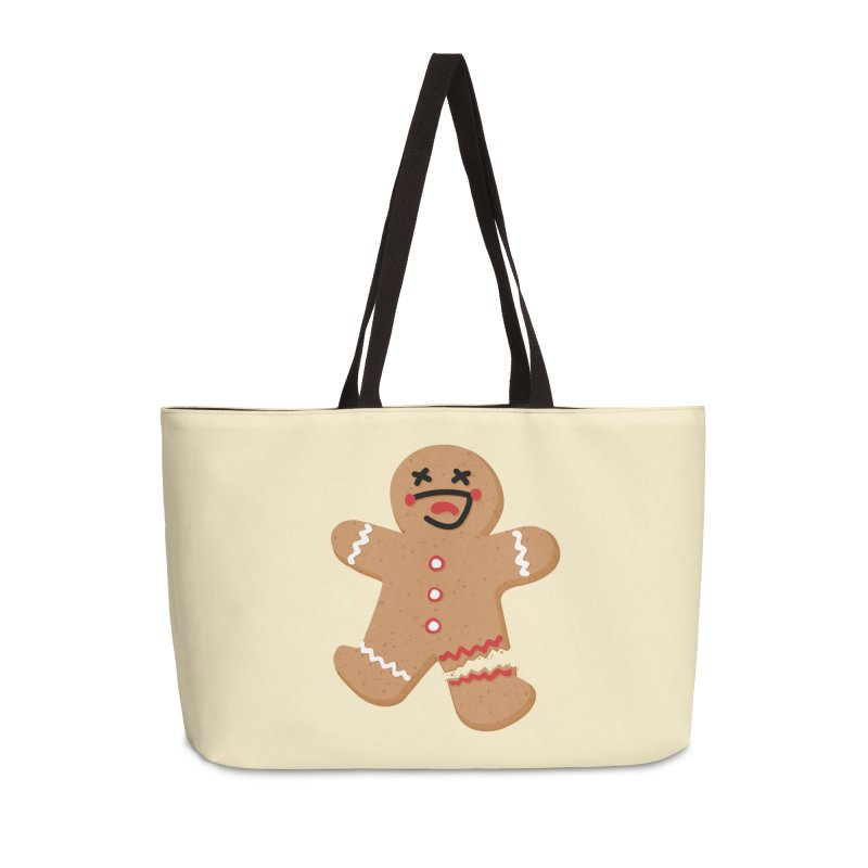 Gingerbread - Oh Snap! Accessories Weekender Bag Bag by Dean Cole Design