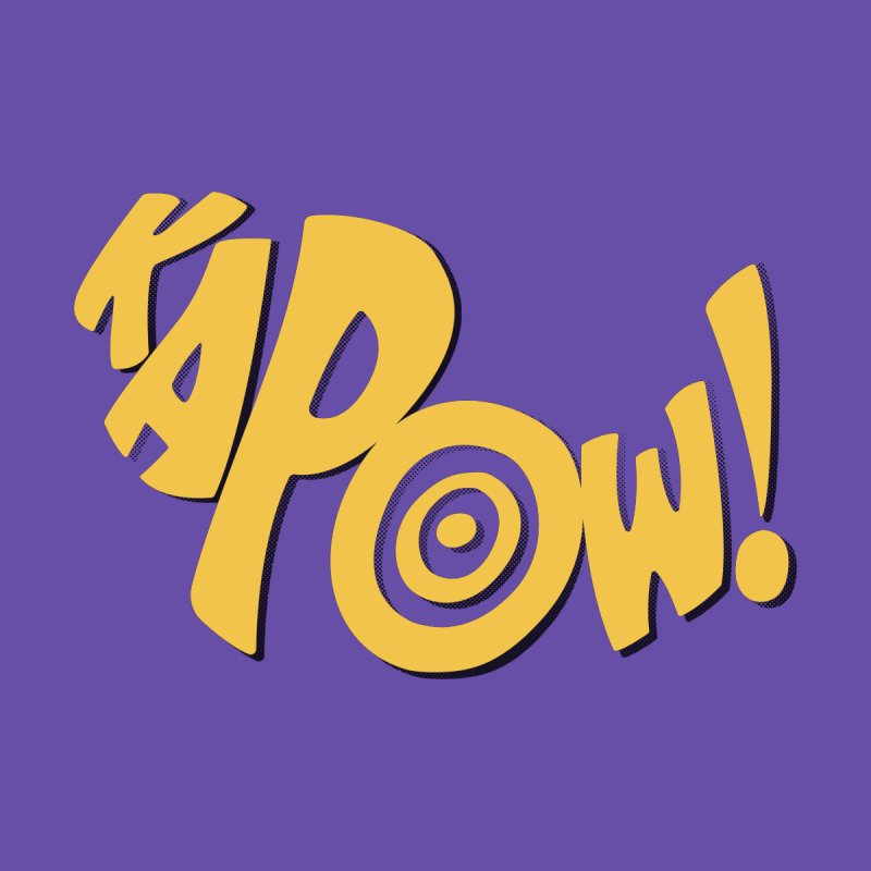 KaPow! Comic Book Sound Effect by Dean Cole Design