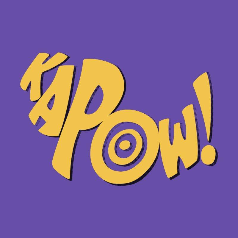 KaPow! Comic Book Sound Effect Women's Zip-Up Hoody by Dean Cole Design